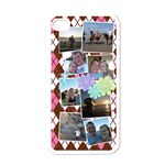 Flower Argyle - Apple iPhone 4 Case (White)