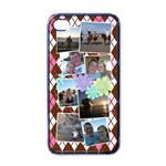 Flower Argyle - Apple iPhone 4 Case (Black)