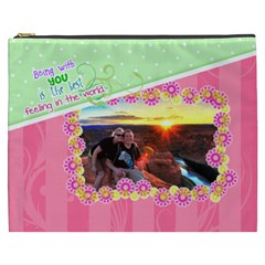 Being With You Xxxl Cosmetic By Digitalkeepsakes   Cosmetic Bag (xxxl)   Lgz8b622n1pm   Www Artscow Com Front