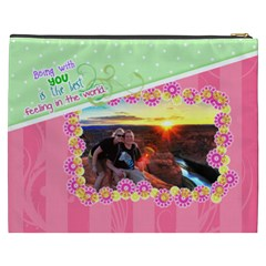 Being With You Xxxl Cosmetic By Digitalkeepsakes   Cosmetic Bag (xxxl)   Lgz8b622n1pm   Www Artscow Com Back