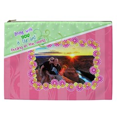 Being With You Xxl Cosmetic By Digitalkeepsakes   Cosmetic Bag (xxl)   Z0x3pwuqbwv2   Www Artscow Com Front