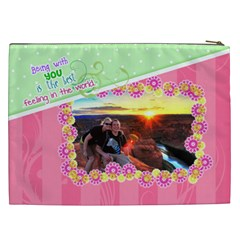 Being With You Xxl Cosmetic By Digitalkeepsakes   Cosmetic Bag (xxl)   Z0x3pwuqbwv2   Www Artscow Com Back