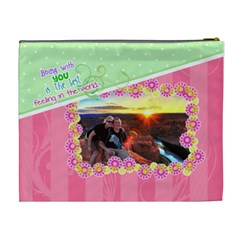 Being With You Xl Cosmetic By Digitalkeepsakes   Cosmetic Bag (xl)   18b35skvfymq   Www Artscow Com Back