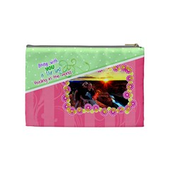 Being With You Medium Cosmetic By Digitalkeepsakes   Cosmetic Bag (medium)   Td52jioxecgt   Www Artscow Com Back
