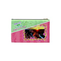 Being With You Small Cosmetic By Digitalkeepsakes   Cosmetic Bag (small)   Or93r0dkn2eo   Www Artscow Com Back