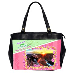 Being With You Office Handbag By Digitalkeepsakes   Oversize Office Handbag (2 Sides)   U839oh51zm4e   Www Artscow Com Front