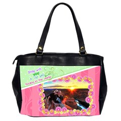 Being With You Office Handbag By Digitalkeepsakes   Oversize Office Handbag (2 Sides)   U839oh51zm4e   Www Artscow Com Back