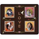 Love Medium Fleece Blanket - Fleece Blanket (Medium)