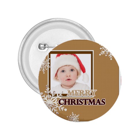 Merry Christmas By Betty   2 25  Button   4mx73dfbq7z9   Www Artscow Com Front