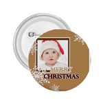merry christmas - 2.25  Button