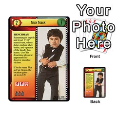 James Bond Dream Cards By Geni Palladin   Multi Purpose Cards (rectangle)   Ns899tax35v6   Www Artscow Com Front 1
