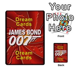 James Bond Dream Cards By Geni Palladin   Multi Purpose Cards (rectangle)   Ns899tax35v6   Www Artscow Com Front 54