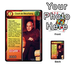 James Bond Dream Cards By Geni Palladin   Multi Purpose Cards (rectangle)   Ns899tax35v6   Www Artscow Com Front 2