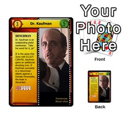 James Bond Dream Cards By Geni Palladin   Multi Purpose Cards (rectangle)   Ns899tax35v6   Www Artscow Com Front 3
