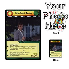 James Bond Dream Cards By Geni Palladin   Multi Purpose Cards (rectangle)   Ns899tax35v6   Www Artscow Com Front 24
