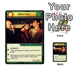 James Bond Dream Cards By Geni Palladin   Multi Purpose Cards (rectangle)   Ns899tax35v6   Www Artscow Com Front 26