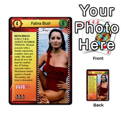 James Bond Dream Cards By Geni Palladin   Multi Purpose Cards (rectangle)   Ns899tax35v6   Www Artscow Com Front 4