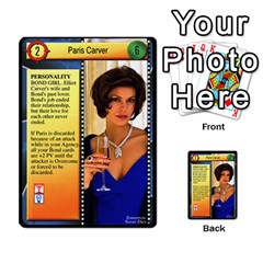 James Bond Dream Cards By Geni Palladin   Multi Purpose Cards (rectangle)   Ns899tax35v6   Www Artscow Com Front 37