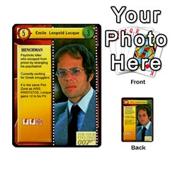 James Bond Dream Cards By Geni Palladin   Multi Purpose Cards (rectangle)   Ns899tax35v6   Www Artscow Com Front 5