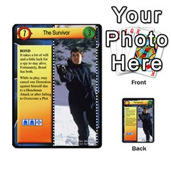 James Bond Dream Cards By Geni Palladin   Multi Purpose Cards (rectangle)   Ns899tax35v6   Www Artscow Com Front 46