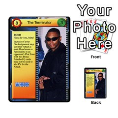 James Bond Dream Cards By Geni Palladin   Multi Purpose Cards (rectangle)   Ns899tax35v6   Www Artscow Com Front 47