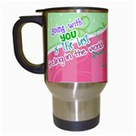 Being with you - Travel Mug - Travel Mug (White)