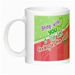 Being with you - Night Luminous Mug