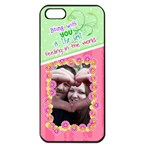 Being with you- Iphone 5 case - Apple iPhone 5 Seamless Case (Black)