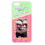 Being with you- Iphone 5 case - Apple iPhone 5 Seamless Case (White)