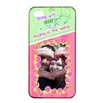Being with you- Iphone 4/4s case - Apple iPhone 4/4s Seamless Case (Black)
