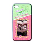 Being with you- Iphone 4/4s case - Apple iPhone 4 Case (Black)