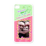 Being with you- Iphone 4/4s case - Apple iPhone 4 Case (White)