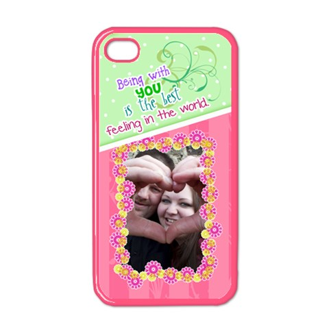 Being With You  Iphone 4/4s Case By Digitalkeepsakes   Apple Iphone 4 Case (color)   Peqkndccdi5r   Www Artscow Com Front