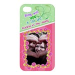 Being with you- Iphone 4/4s case - Apple iPhone 4/4S Hardshell Case