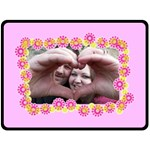 Being with you - Extra Large Fleece Blanket - Fleece Blanket (Extra Large)