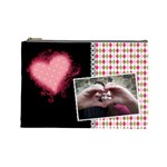 Love - Cosmetic Bag Large - Cosmetic Bag (Large)