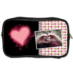Love   Toiletries Bag 2 Sides By Digitalkeepsakes   Toiletries Bag (two Sides)   Oshi9lcrip0d   Www Artscow Com Front