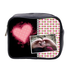Love   Mini Toiletries Bag 2 Sides By Digitalkeepsakes   Mini Toiletries Bag (two Sides)   Kbbgxsk6plna   Www Artscow Com Front