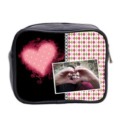 Love   Mini Toiletries Bag 2 Sides By Digitalkeepsakes   Mini Toiletries Bag (two Sides)   Kbbgxsk6plna   Www Artscow Com Back