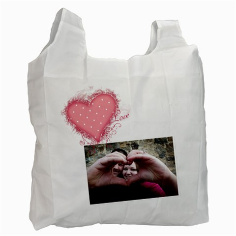 Love   Recycle Bag By Digitalkeepsakes   Recycle Bag (one Side)   6hb1k076lw34   Www Artscow Com Front