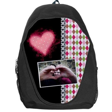 Love   Backpack By Digitalkeepsakes   Backpack Bag   Ni7b5dtu4s5q   Www Artscow Com Front
