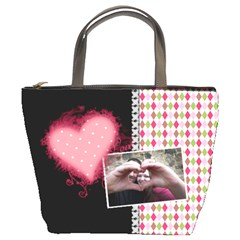 Love   Bucket Bag By Digitalkeepsakes   Bucket Bag   D7iltef8uwuu   Www Artscow Com Front
