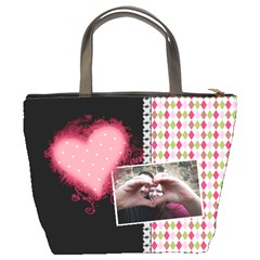 Love   Bucket Bag By Digitalkeepsakes   Bucket Bag   D7iltef8uwuu   Www Artscow Com Back