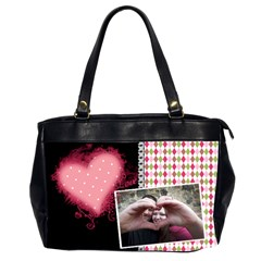 Love   Oversize Office Handbag By Digitalkeepsakes   Oversize Office Handbag (2 Sides)   Kkf129f61muf   Www Artscow Com Front