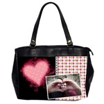 Love - Oversize Office Handbag - Oversize Office Handbag (Two Sides)