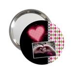 Love - Handbag Mirror - 2.25  Handbag Mirror