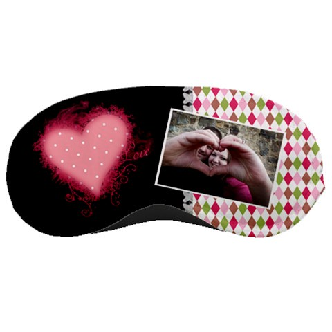 Love   Sleeping Mask By Digitalkeepsakes   Sleeping Mask   Zyqx6orfkg64   Www Artscow Com Front