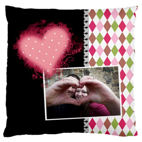 Love   Cushion Case By Digitalkeepsakes   Large Cushion Case (one Side)   K7sawzay6e6s   Www Artscow Com Front