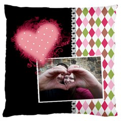 Love   Cushion Case 2 Sides By Digitalkeepsakes   Large Cushion Case (two Sides)   56f3ibh2vyi6   Www Artscow Com Front