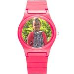 Round Plastic Sport Watch (S)
